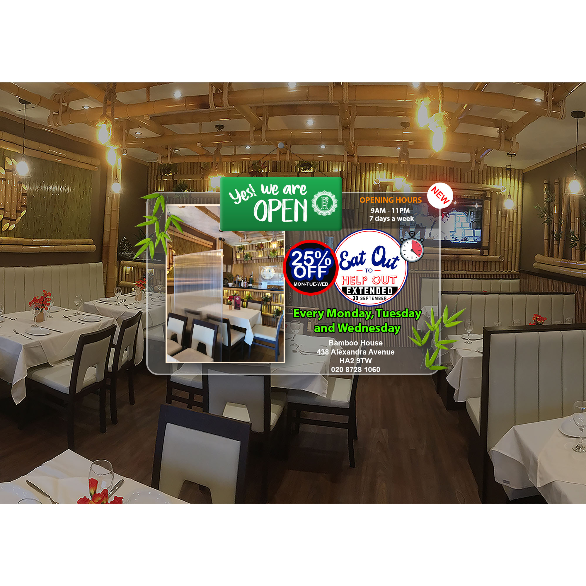 Bamboo House | A Luxurious Indian Restaurant in Harrow
